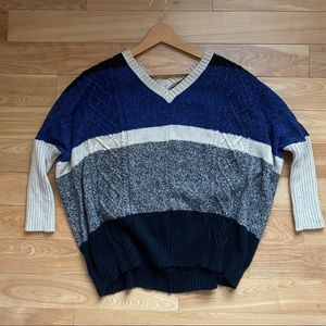 Aiko wool and cashmere blend oversized sweater